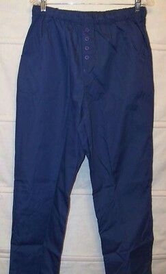 Cintas Size XS-5XL Scrub Pants NEW Navy Blue