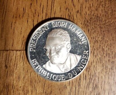 1960 Niger 1000 Francs Silver Proof Coin