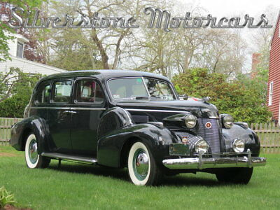 Cadillac Fleetwood  1939 Green Limo Great Condition Restored Drives Perfect Award Winner