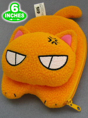 "6"" Fruits Basket Kyo Wallet Purse Plush Animal Cat Doll Christmas Gift FBPL0010"