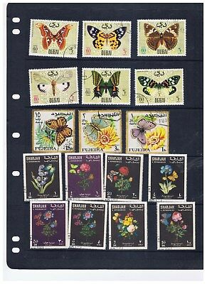 Butterfly collection of 80 (A21) – free postage