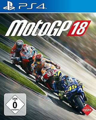 moto gp 18 PS4 PlayStation 4 NUOVO + conf. orig.