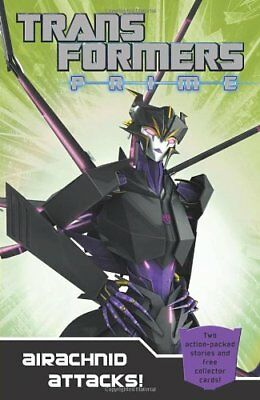 Transformers Prime: Airachnid Attacks!: Book 4 (Transformers Prime Chapter Bk)-
