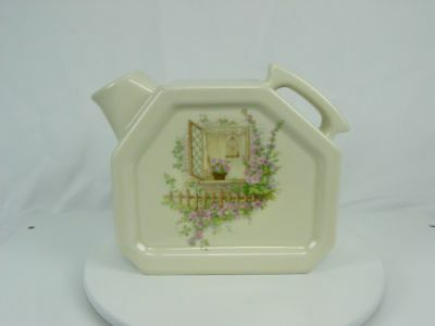 Vintage USA Mint COORS THERMO PORCELAIN Open Window Water Server Pitcher