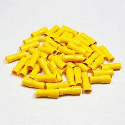Crimp Terminals Spade Female Fully Insulated YELLOW (6.3mm) connectors WT13