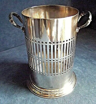 SUPERB Large ~ SILVER Plated ~ ART DECO ~ BOTTLE / Cutlery COASTER ~ c1935