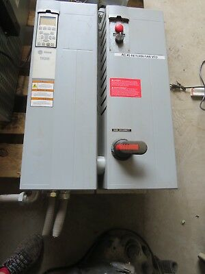 Trane Tr200 131L2046 Variable Frequency Drive 30Hp W/ Industrial Control Panel