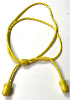 Wwi Us Army M1911 Cavalry Campaign Hat Cord Braid-Yellow