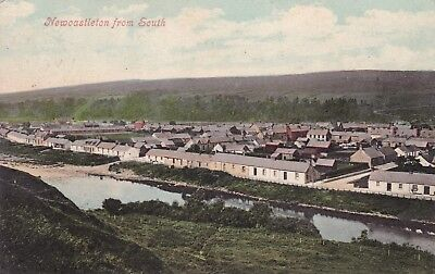 Newcastleton From South  By Valentine's 1906 - Fine Cds