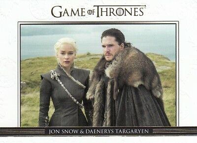 Game Of Thrones Season 7 - Gold Parallel Relationships Chase Card Dl41 (088/225)