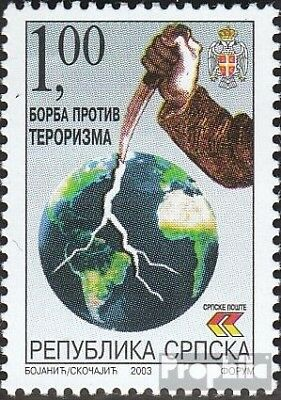 Serbian Republic bos.-h 281 mint never hinged mnh 2003 Terrorismus
