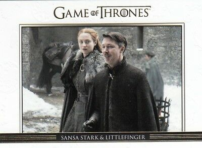 Game Of Thrones Season 7 - Gold Parallel Relationships Chase Card Dl49 (112/225)