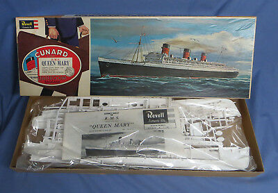 Vintage Revell Cunnard Queen Mary Queen of the Sea Model - Unopened!