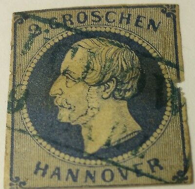 Hanover   Scott#20    Used  Stamp Scu800Ad ....worldwide Stamps