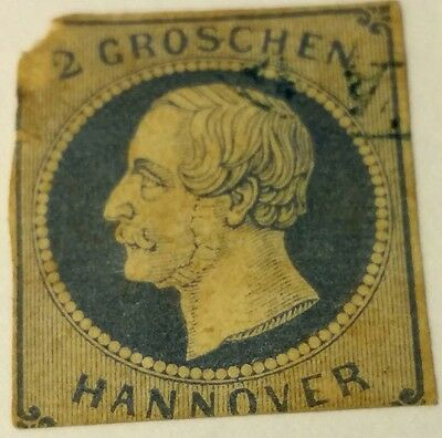 Hanover   Scott#20    Used  Stamp Scu916Bc  ....worldwide Stamps
