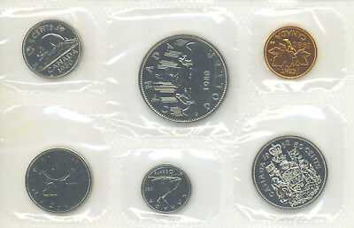 1980 Canada Proof-Like PL Coin Set