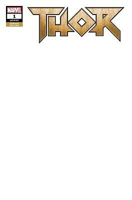 Thor Vol 5 #1 Cover C Variant Blank Cover Marvel See Pic