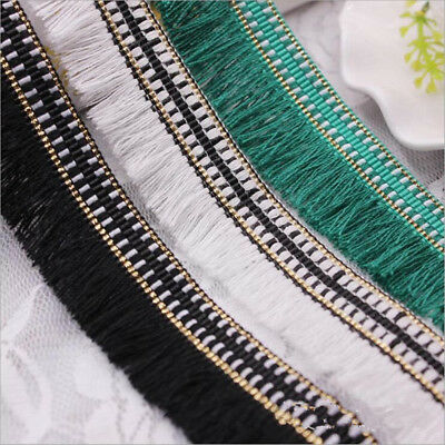 5 Yards Gold Line cotton lace DIY clothing /hats /scarves accesories