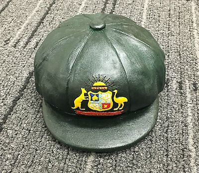 Australia Cricket Baggy Green Ceramic Cap Bradman Ponting Warne Smith Warner