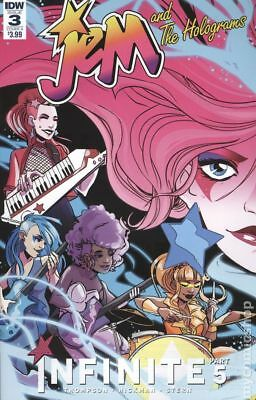 Jem and The Holograms Infinite #3A 2017 NM Stock Image