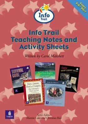 (Good)-Info Trail:KS2:Teaching Notes and Activity Sheets Info Trail Teacher's No