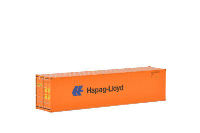 Hapag-Lloyd 40' SHIPPING CONTAINER 1:50 Scale by WSI 04-2033