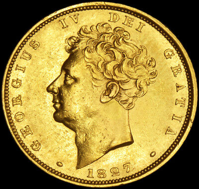 Fantastic King George The Iv 1827 Gold Sovereign....