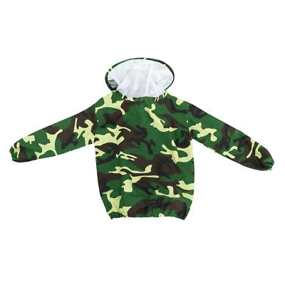 Beekeeping Jacket Beekeeper Suit Clothing Anti-bee Outer Garment -Camouflage