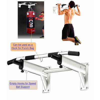 Pull Up Bar Wall Mounted Metal Chin Up Bar
