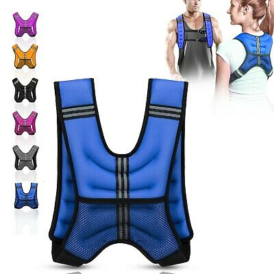 Weighted Vest 8Kg Adjustable Jacket