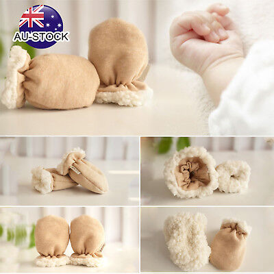 1Pair Baby Anti Scratching Gloves Newborn Protection Face Cotton Scratch Mittens