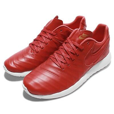 deeff37f88 Nike Roshe Tiempo VI QS 6 SOPHNET SOPH One Run Leather Red Men Shoes 853535-