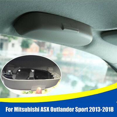 Car Front Sun Glasses Case Box Holder For Mitsubishi ASX Outlander Sport 2013-18