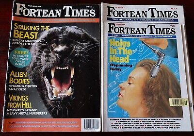 Fortean Times Lot Of 22 Magazines 1991-1999