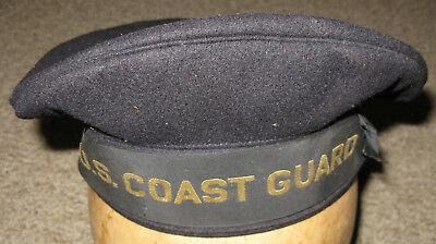 WWII US Coast Guard Cap, Excellent Overall