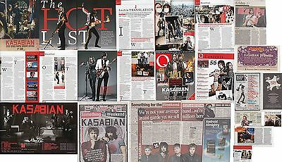 KASABIAN : CUTTINGS COLLECTION -adverts interviews-