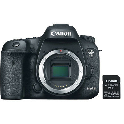 Canon EOS 7D Mark II 20.2MP Digital SLR Camera Wi-Fi Adapter Kit