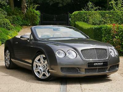 Bentley Continental GTC GTC - 1 OWNER - AMAZING SPECIFICATION PETROL 2008/08