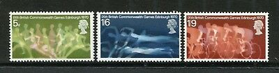 Gb 1970 Mnh Sg 833-834 Commonwealth Games Commemorative Stamp Set