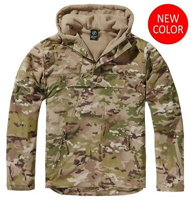 BRANDIT Jacket Anorak military man Fleece WINDBREAKER Tactical camo
