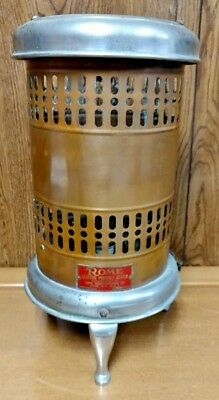 Rare 1930s Rome Electric Portable Heater By Revere Rome Mfg Co Rome NY
