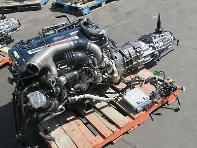 Jdm Nissan Skyline Gtr R32 Rb26Dett Engine Awd Transmission Jdm Rb26Det Turbo