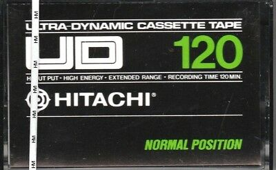 Hitachi Ud 120 Normal Position Type I Blank Audio Cassette - Japan 1976