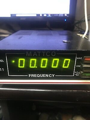 Mattco Frequency Counter