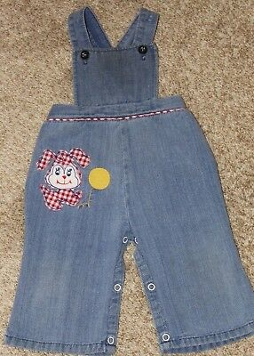Vintage Overall's Size 6m Photo Farm Country