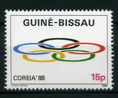 Guinea Bissau MiNr. 903 postfrisch/ MNH Olympiade (Oly491