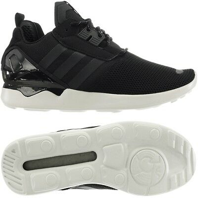 c84813b89 Adidas ZX 8000 Boost black men s mid-cut running lifestyle sneakers  trainers NEW