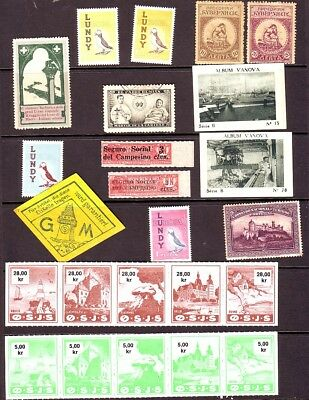 Old World * Local Bob  1 Page  == 24  ==  Foreign  Mint Unsorted