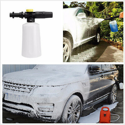 1X Adjustable High Pressure Car Wash Shampoo Sprayer Foam Cannon Gun For Karcher