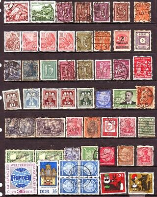 Old Europe * German Speaking  Influence Area  Mint & Used == 50 +  1 Page